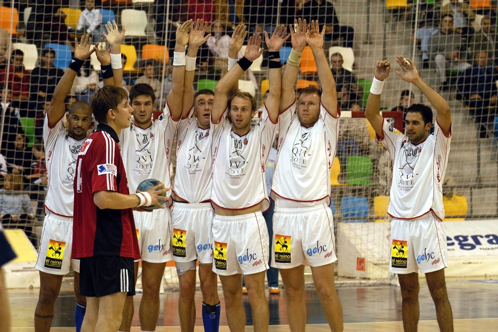 BM Ciudad Real with 11 different nationalities in the season 2004/05